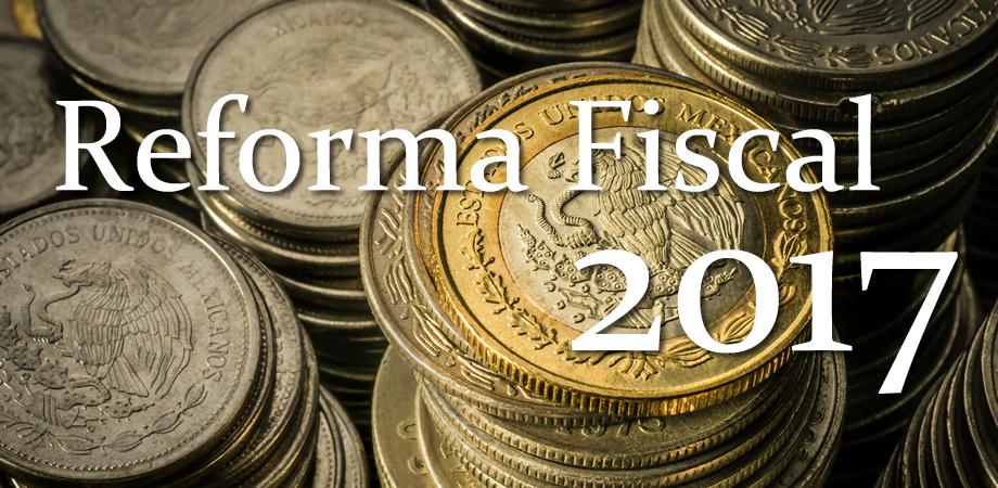 Novedades Fiscales año 2017